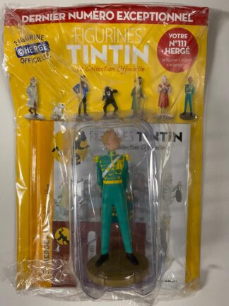 Tintin - Statyett N111 - Hergé - RARE