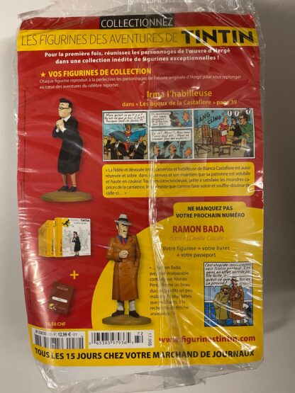 Tintin - Statyett N72 - Irma - RARE