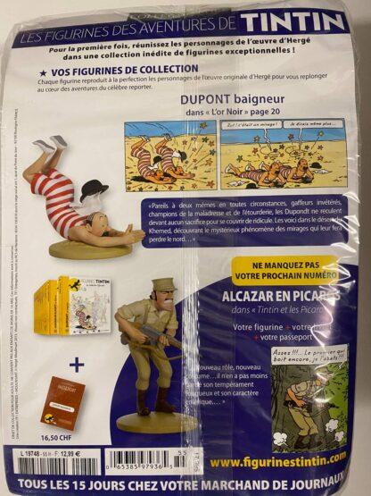 Tintin - Statyett N55 - Dupont - Baigneur - RARE