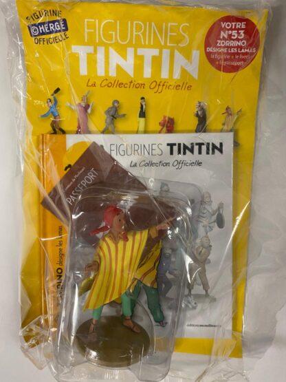 Tintin - Statyett N53 - Zorrino Désigne Les Lamas - RARE