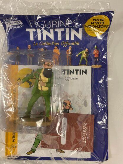 Tintin - Statyett N103 - Wronzoff - RARE