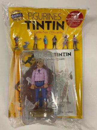 Tintin - Statyett N45 - Rastapopoulos á la Cravache - RARE