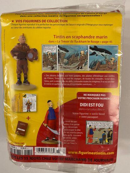Tintin - Statyett N65 - Tintin i dykardräkt - RARE