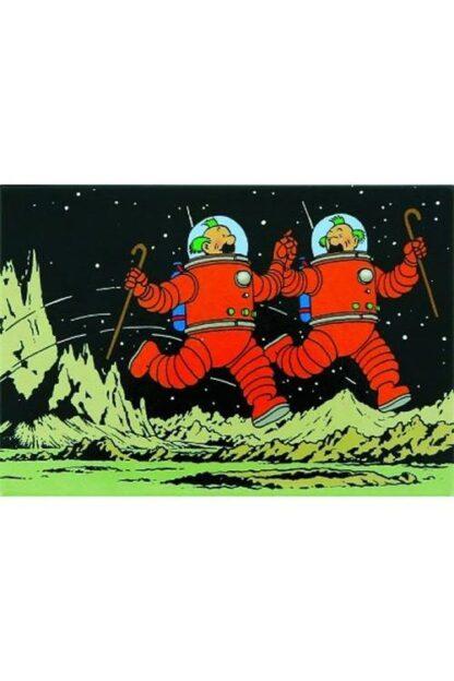 Tintin - Magnet - Dupontarna på månen
