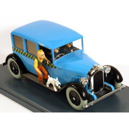 Tintin - 1:24 Modellbil #7 - Chicago Tax