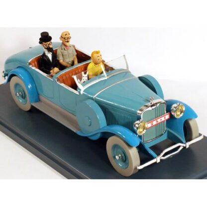 Tintin - 1:24 Modellbil #10 - Lincoln Model L