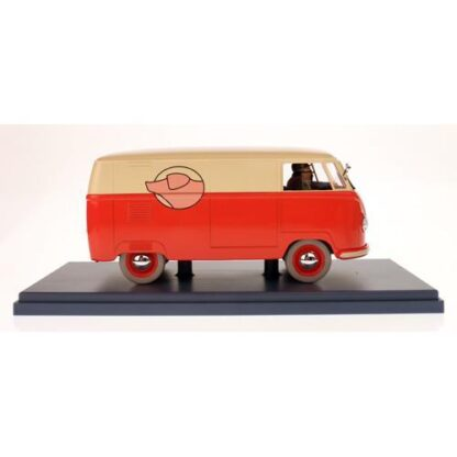 Tintin - 1:24 Modellbil #13 - VW Van Combi 1951