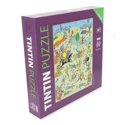 Tintin - Pussel - Slaget vid Zileheroum
