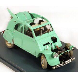 Tintin - 1:24 Modellbil #11 - Citroen CV2