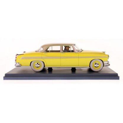 Tintin - 1:24 Modellbil #39 - Gul Chrysler
