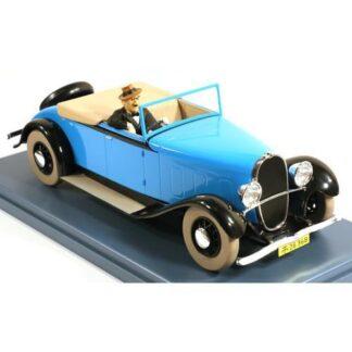 Tintin - 1:24 Modellbil #46 - Oldsmobile Cab