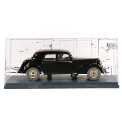 Tintin - 1:24 Modellbil #48 - Svart Citröen 15 CV