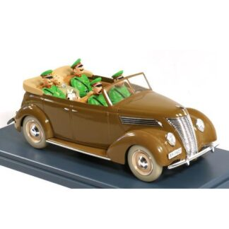 Tintin - 1:24 Modellbil #50 - Ford 1937 Cab