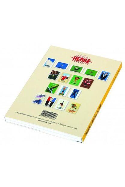 Tintin - Tintin Museums vykortsbok