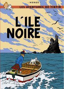 Poster - Tintin L'Île Noire - Den svarta ön