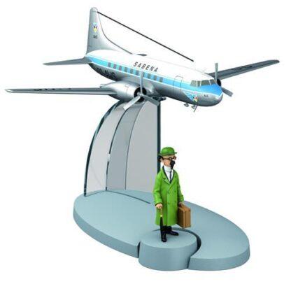 Tintin - Sabena Flygplan (Tintin LAffaire Tournesol)