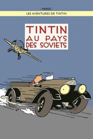 Poster - Tintin au pays de Soviets - Tintin i Sovjet