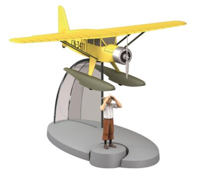 Tintin - Sjöflygplan (Tintin Krabban med guldklorna)