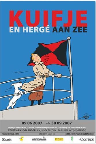 Poster - Utställningsaffisch - Oostende 2007