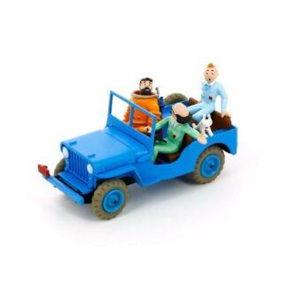 Tintin - Jeep Willys CJ 2a 1945-49 - Objectif Lune – Månen tur och retur
