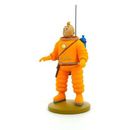 Tintin - Statyett - Tintin i rymddräkt