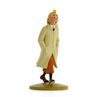 Tintin - Statyett - Tintin i trenchcoat