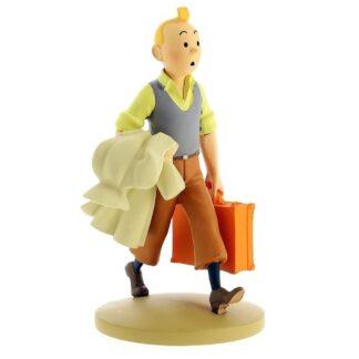 Tintin - Statyett - Tintin på väg