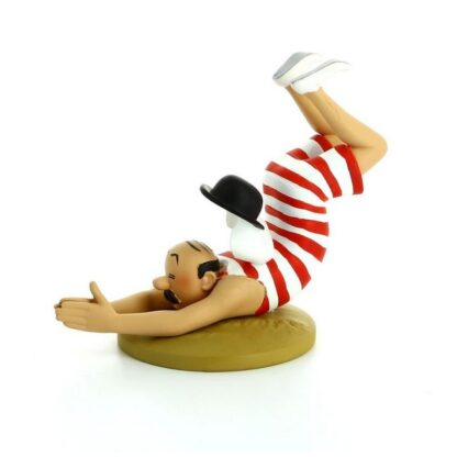 Tintin - Statyett - Dupond som dyker