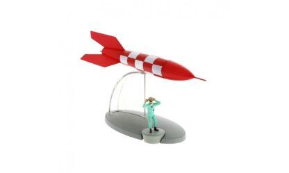 Tintin -X-FLR6 Test Rocket (Månen tur och retur)