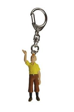 Tintin - Nyckelring i plast - Tintin hälsar
