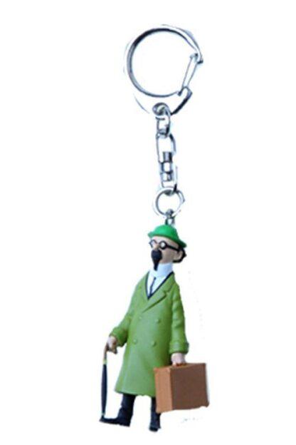 Tintin - Nyckelring i plast - Professor Kalkyl med koffert