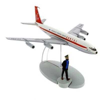 Tintin - Qantas Airlines Boeing 707 (Flyg 714 från Sidney)