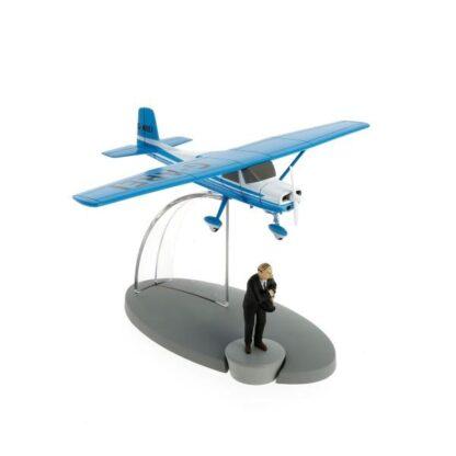 Tintin - G-Arei - blått plan (Den svarta ön)