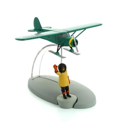 Tintin - Skidflygplan (Destination New York)