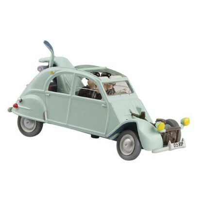 Tintin - Citroën 2cv 1955