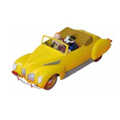 Tintin - Haddocks Lincoln Zephyr convertible