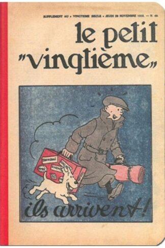 "Tintin - Anteckningsbok - Petit Vingtième ""Ils arrivent!"""