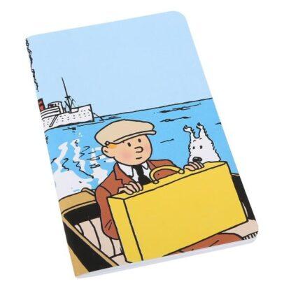 Tintin - Anteckningsbok - Tintin och Milou på båt