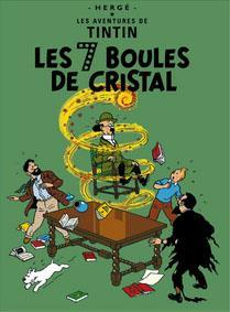 Poster -Tintin Les Sept Boules de cristal De sju kristallkulorna