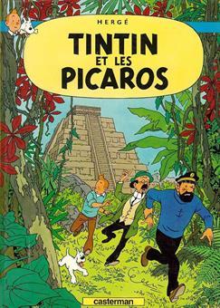 Poster - Tintin et les picaros - Tintin hos gerillan
