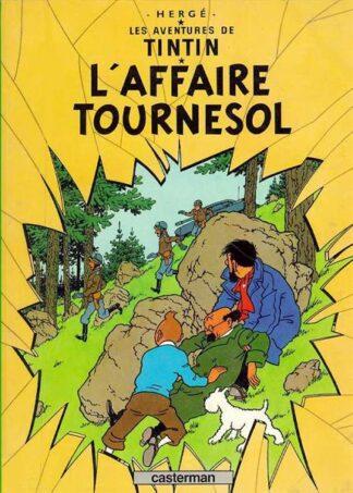 Poster - Tintin L'Affaire Tournesol - Det hemliga vapnet