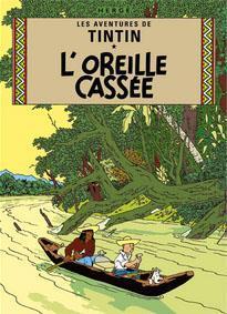 Poster - Tintin L'Oreille Cassée - Det sönderslagna örat