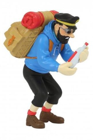 Tintin - PVC - Haddock med tom flaska