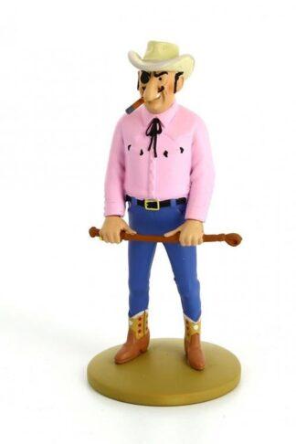 Tintin - Statyett - Rastapopoulos med piska