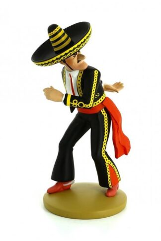 Tintin - Statyett - Alcazar kastar kniv