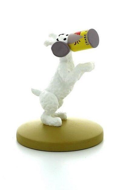 Tintin - Statyett - Milou med krabburk
