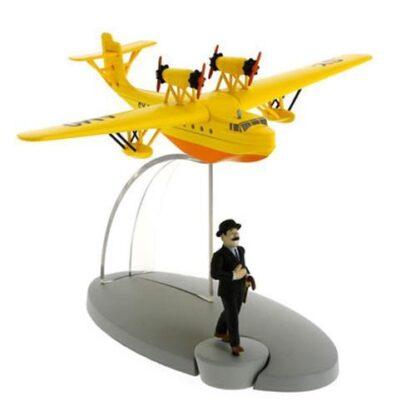 Tintin - Sjöflygplan SY-AMO (Ottokars spira)