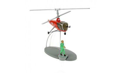 Tintin - The Sprodj BH15 helicopter (Månen tur och retur)