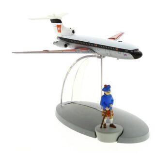 Tintin - British European Airways plane (Den svarta ön)