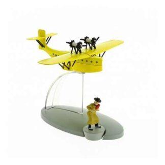 Tintin - Post-service seaplane (The Broken Ear)
